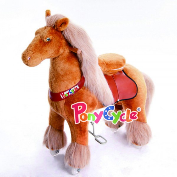 Royal Horse PonyCycle Light Brown Medium (4-9 Years)
