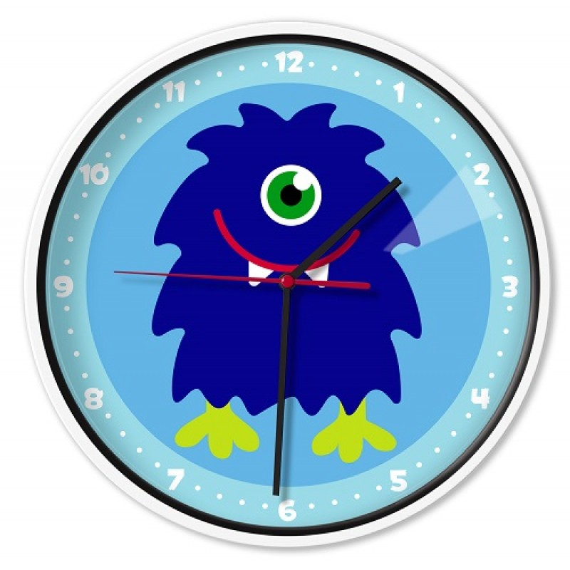 Monsters Olive Kids Wall Clocks Little Bear Boutique